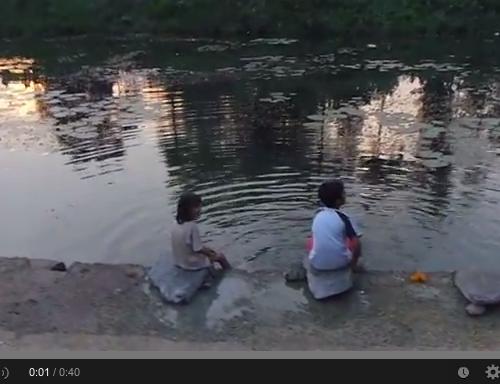 C'est quoi le bonheur pour vous? Enfants au Kérala -Inde