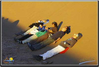 Randonnée et sophrologie dans le désert marocain