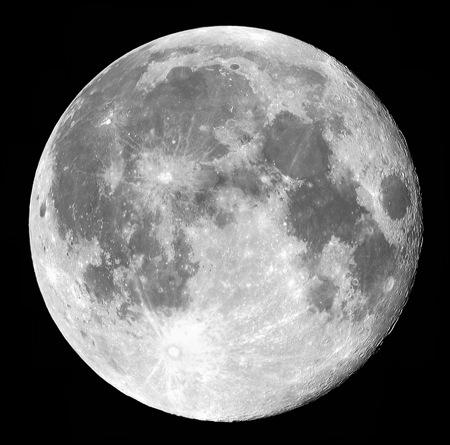 Les planètes en astrologie-La lune