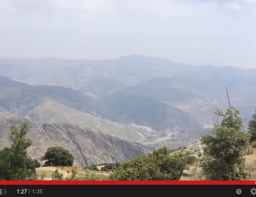 Méditation du monde à la Sierra Nevada