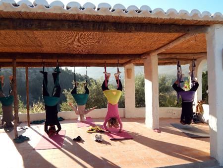 Yoga en Andalousie