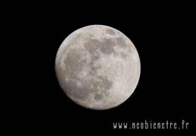 Pleine lune le 12 juillet