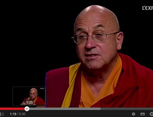 La méditation en pleine conscience peut contribuer à bâtir un monde économique plus responsable