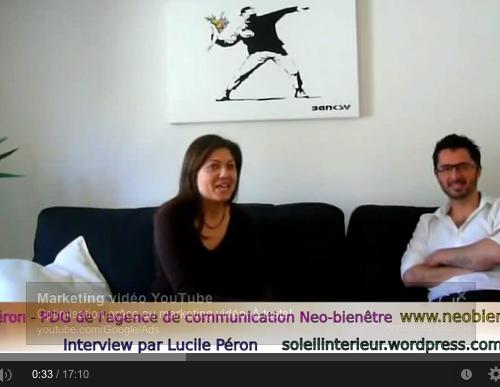 Interview vidéo de Julien PERON