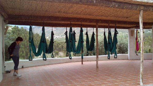 Stage Yoga Swing en Andalousie