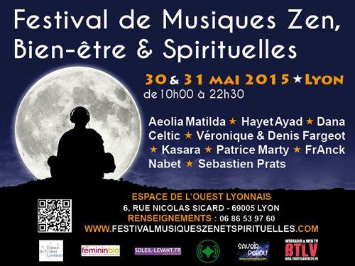 Festival de musiques zen, bien-être et spirituelles