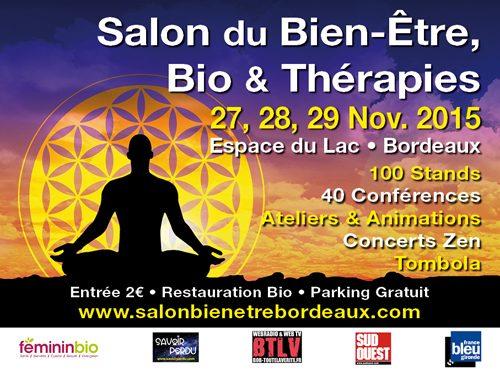 Salon du bien-être, bio et thérapies à Bordeaux