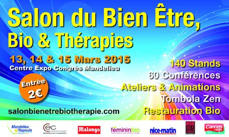 Salon du bien-être, bio et thérapies à Mandelieu