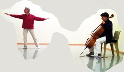Voix, Violoncelles et Cordes en Improvisation Août 2015