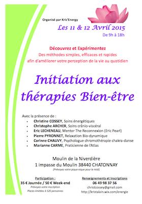 Initiation aux thérapies bien-être