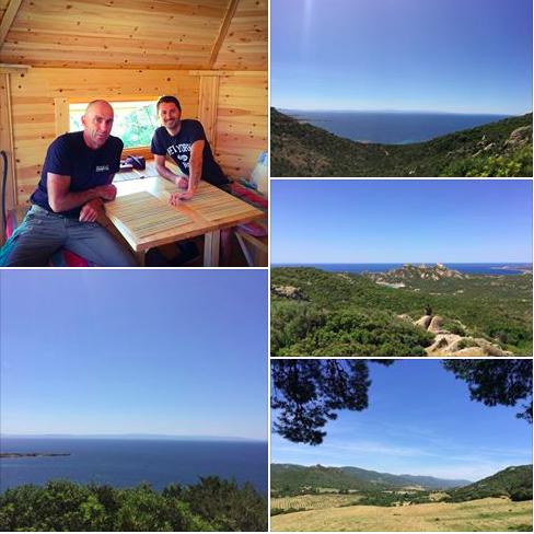 Le bonheur en Corse avec Frank Bruno