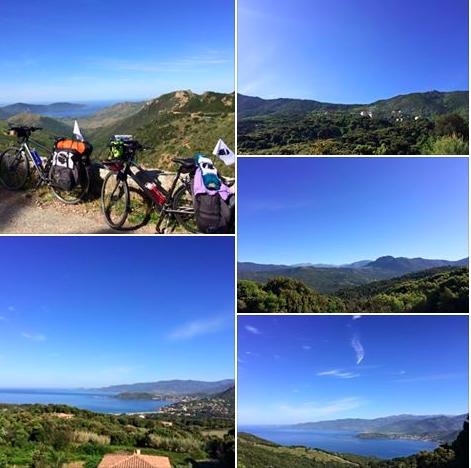 Yoga, méditation et vélo en Corse