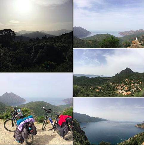 Méditation, yoga et vélo en Corse
