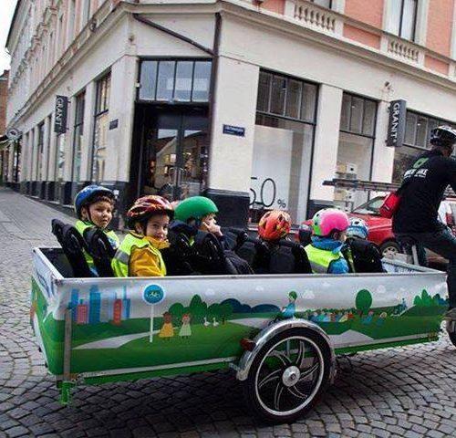 Neo-bienêtre pour des villes 100% vélo