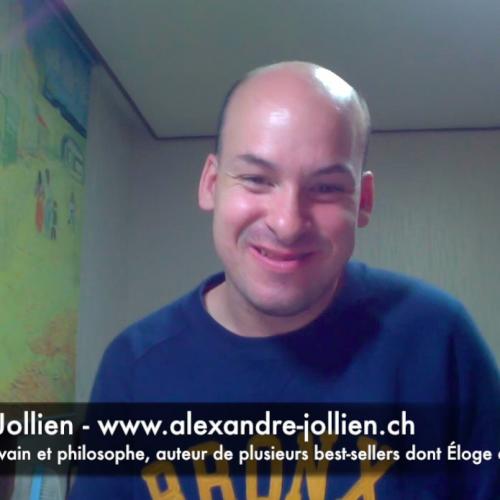 C'est quoi le bonheur pour vous Alexandre Jollien?