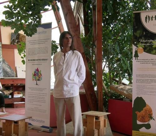 Conférence vidéo de Conrad au festival pour l'école de la vie 2015