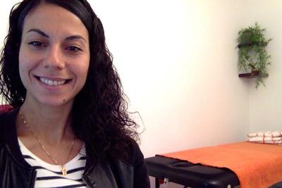 Sarah Ismaïl, kinésiologue à Marseille