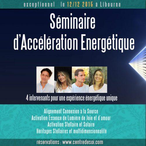 Vivre l'accélération énergétique avec TetraDlighT Activations
