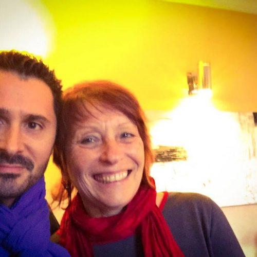 Julien Peron et Anne Givaudan autour du bonheur