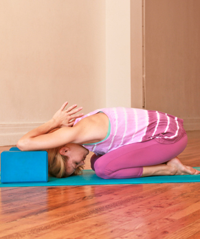 Yoga, la nuque texto
