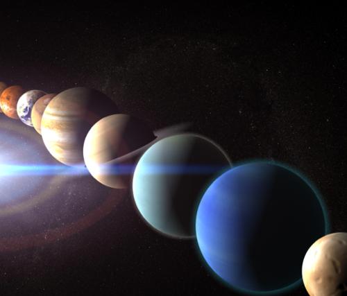 Les planètes Mercure, Vénus, Saturne, Mars et Jupiter sont alignées jusqu'au 20 février