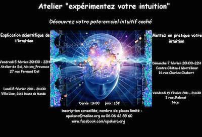 Atelier expérimentez votre intuition