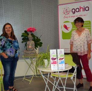 Cécile BOUCHER et Véronique ALONSO, GAHIA, développement personnel et spirituel