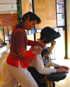 Armelle Saderne, Shiatsu, Amma, massage à Paris