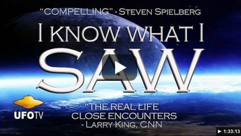 OVNI, documentaire, je  sais ce que j'ai vu (I know what i saw)