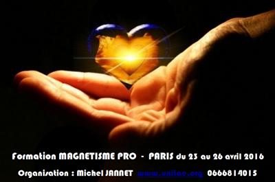 Formation Magnétisme Pro à PARIS / 4 jours 23-26 Avril 2016