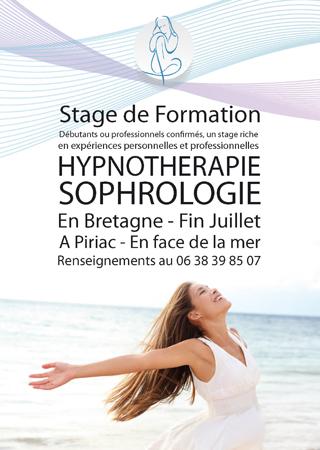 Stage Hypnothérapie et Sophrologie en Bretagne