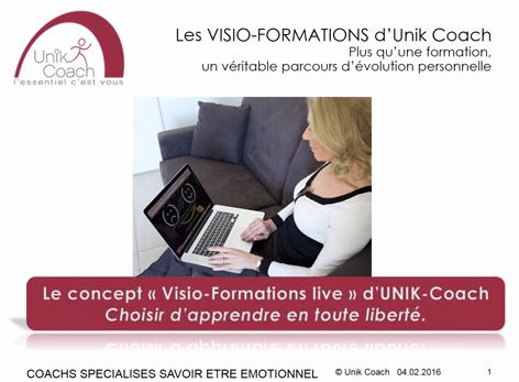 Unik-Coach vous propose des visio-formations