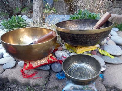 Atelier découverte et initiation Bols chantants et diapasons thérapeutiques