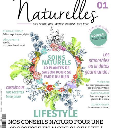 Naturelles, premier magazine naturo fait par des naturo