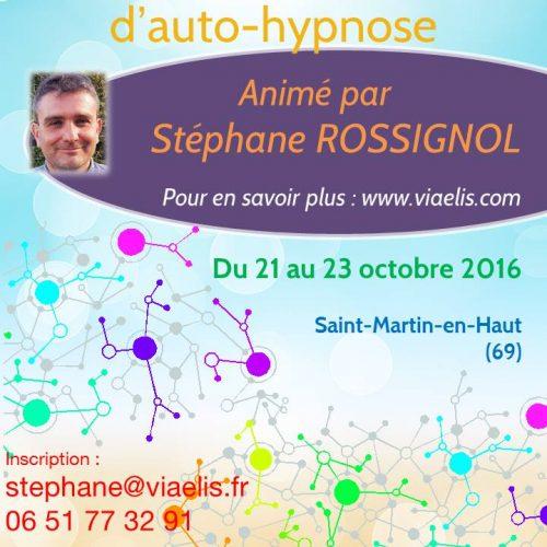 Techniques d'hypnose et d'auto-hypnose – 21-23 octobre