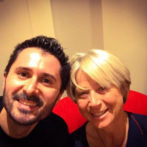 Julien Peron et Christine Janin autour du bonheur