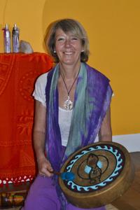 Mireille Lambert, corps et voix, à Dourdan, île-de-France