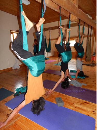 Stage Yoga Swing/Aérien à Grimone, 24-28 mai 2017