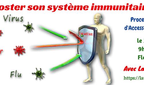 Booster son système immunitaire énergétiquement le 26/02/17
