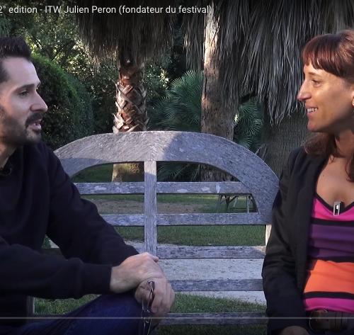 Julien Peron interviewé par Itinérance Films, 2ème édition du festival pour l'école de la vie