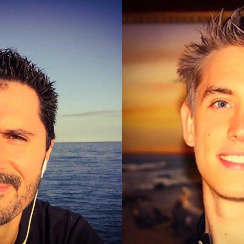 Julien Peron et David Laroche autour du bonheur