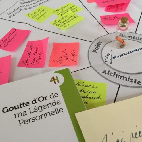 Atelier « L'alchimiste : Partagez votre Légende Personnelle » – 09 et 10 Décembre 2017 – Cannes – France