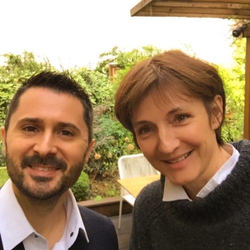 Julien Peron et Béatrice Sabaté autour du bonheur