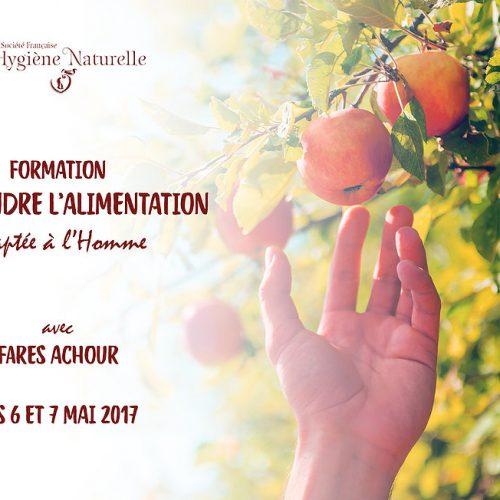 Formation comprendre l'Alimentation Destinée à l'Homme
