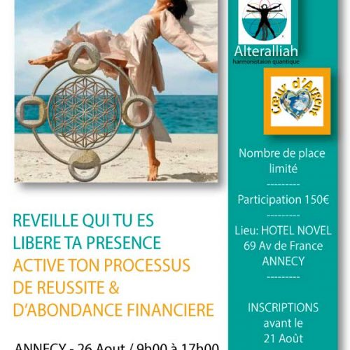 JOURNÉE ALIGNEMENT ET TRANSFORMATION FINANCIÈRE ANNECY