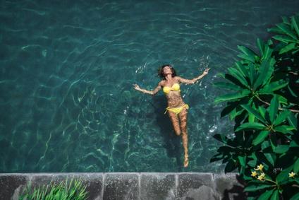 C'est l'été : Relaxez-vous dans l'eau !