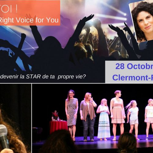 Révèle-toi, révèle ta voix – Right Voice for You – Intro-