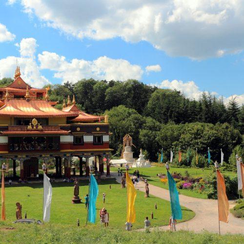 Séminaires Amena au temple de Lerab Ling
