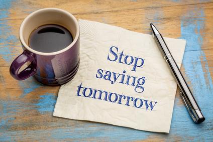 Dites Stop à la procrastination !
