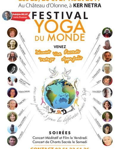 Que du Bonheur partager pendant trois jours, festival yoga du monde